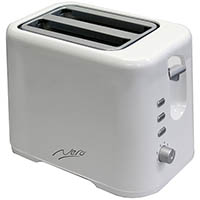 NERO TOASTER 2 SLICE WHITE