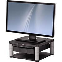 FELLOWES PREMIUM MONITOR RISER PLUS GRAPHITE