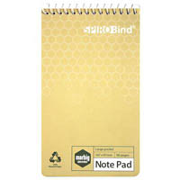 MARBIG 100% RECYCLED POCKET NOTEBOOK 96 PAGE 85 X 150MM