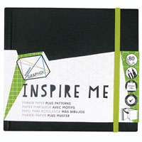 DERWENT GRAPHIK INSPIRE ME BOOK 12GSM 80 PAGE SMALL