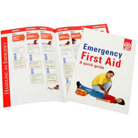 ST JOHN EMERGENCY FIRST AID QUICK GUIDE BOOK