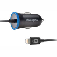 KENSINGTON POWERBOLT 2.4 AMP LIGHTNING CAR CHARGER