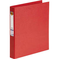 MARBIG RING BINDER PE 25MM 2D A4 RED