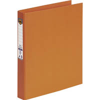 MARBIG RING BINDER PE 25MM 2D A4 ORANGE