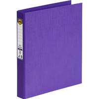 MARBIG RING BINDER PE 25MM 2D A4 PURPLE