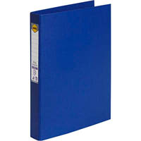 MARBIG RING BINDER PE 25MM 3D A4 BLUE