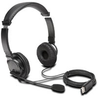 KENSINGTON HI-FI USB HEADPHONES WITH MICROPHONE