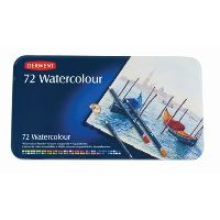 DERWENT WATERCOLOUR PENCIL ASSORTED TIN 72