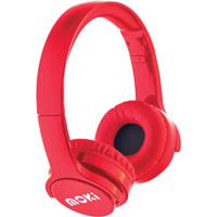 MOKI BRITES BLUETOOTH HEADPHONES RED