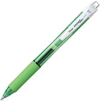 PENTEL ENERGEL-X GEL INK PEN BL107 RETRACTABLE MEDIUM 0.7MM GREEN