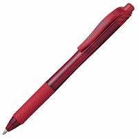 PENTEL ENERGEL-X RETRACTABLE GEL INK PEN 1.0MM RED