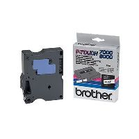 BROTHER TX-221 LABEL TAPE 9MM BLACK ON WHITE