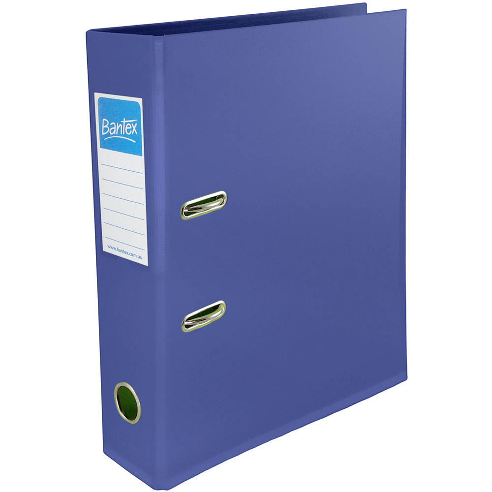 Image For BANTEX LEVER ARCH FILE 70MM A4 URBAN BLUE From Office Products  Depot Gold Coast