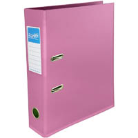 BANTEX LEVER ARCH FILE 70MM A4 CRIMSON