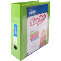 BANTEX LOLLYSHOP INSERT LEVER ARCH FILE 65MM A4 GREEN