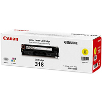 CANON CART318Y LASER TONER CARTRIDGE YELLOW