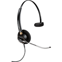 PLANTRONICS HW510 ENCOREPRO VOICE TUBE MONAURAL CORDED HEADSET