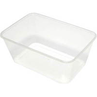 CAPRI MICROWAVABLE CONTAINERS RECTANGLE 950ML PACK 50