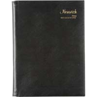 CUMBERLAND NORWICH 2020 DESKTOP DIARY DAY TO PAGE 15 MINUTE A4 BLACK