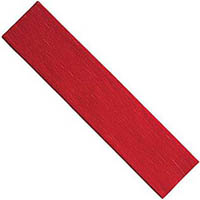 CUMBERLAND CREPE PAPER 2400 X 500MM FLAME RED