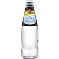 SCHWEPPES NATURAL MINERAL WATER BOTTLE 300ML CARTON 24