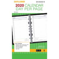 DEBDEN 2020 DAYPLANNER DESK EDITION REFILL DAY TO PAGE 216 X 140MM WHITE