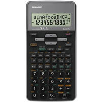 SHARP EL531TH SCIENTIFIC CALCULATOR GREY/BLACK