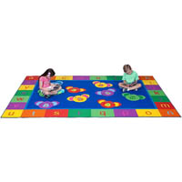 ELIZABETH RICHARDS 123 ABC KOALA FUN RUG 3300 X 2000MM