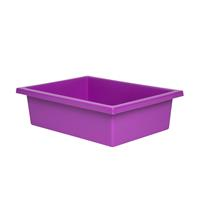 ELIZABETH RICHARDS PLASTIC TOTE TRAY PURPLE