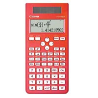 CANON SCIENTIFIC CALCULATOR F717SGA DUAL-WAY DISPLAY 242 FUNCTIONS RED