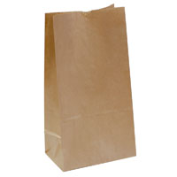 CAPRI PAPER BAG SELF-OPENING NO 12 BROWN PACK 500