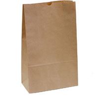 CAPRI PAPER BAG SELF-OPENING NO 16 BROWN PACK 250