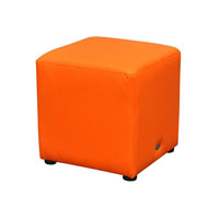 DURASEAT OTTOMAN CUBE ORANGE