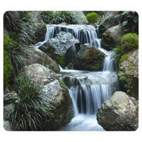 FELLOWES MOUSE PAD RECYCLED OPTICAL WATERFALL