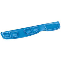FELLOWES KEYBOARD PALM SUPPORT GEL BLUE
