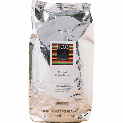 Image For ROBERT TIMMS PICCO ESPRESSO GRANDE BEANS 1KG From Angletonu0027s  Office Products Depot