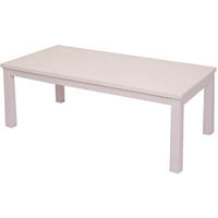 RAPIDLINE 50 COFFEE TABLE 1200 X 600MM WHITE