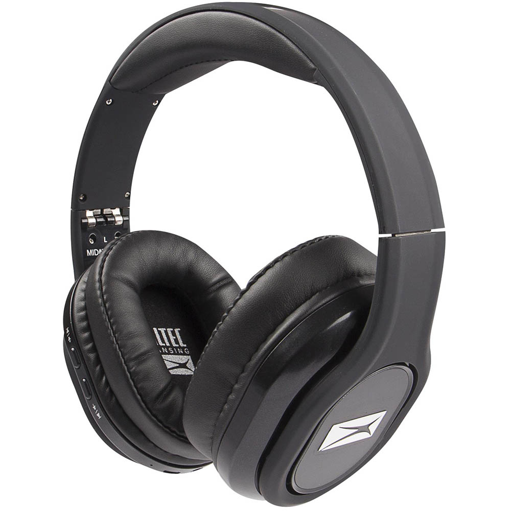 ALTEC LANSING EVOLUTION 2 BLUETOOTH HEADPHONES BLACK