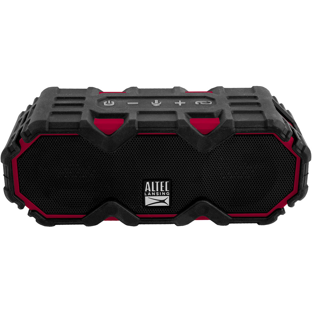 Image for ALTEC LANSING MINI LIFEJACKET JOLT BLUETOOTH SPEAKER BLACK/RED from Office Product Solutions Pty Ltd