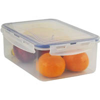ITALPLAST AIR LOCK FOOD CONTAINER 2900ML CLEAR