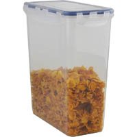 ITALPLAST AIR LOCK FOOD CONTAINER 4400ML CLEAR