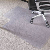 JASTEK DELUXE CHAIRMAT KEYHOLE CARPET 910 X 1220MM