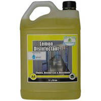 TASMAN DISINFECTANT LEMON 5 LITRE BOTTLE