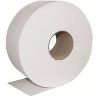 TRU SOFT JUMBO TOILET ROLL 2 PLY 400M CARTON 6
