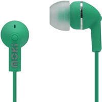MOKI DOTS NOISE ISOLATION EARBUDS GREEN