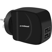 MBEAT GORILLA POWER DUAL PORT 3.4A USB SMART CHARGER