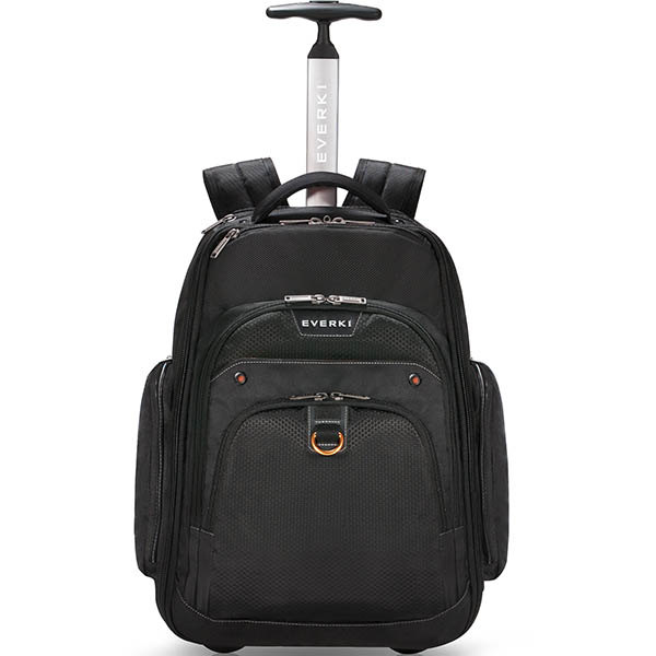 Image For EVERKI ATLAS WHEELED LAPTOP BACKPACK 17.3 INCH BLACK From  Australian Stationery Supplies Office Products