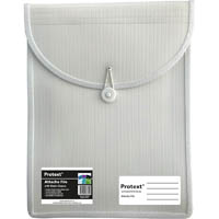 PROTEXT ATTACHE FILE WITH ELASTIC CLOSURE WHITE