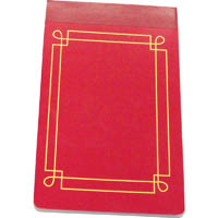 CUMBERLAND PERFECTBOUND NOTEBOOK REFILL 100 LEAF 85 X 140MM