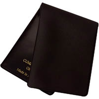 CUMBERLAND OM117C NOTEBOOK COVER POCKET/PURSE PVC 72 X 115MM FOR OM117R